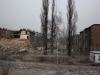 21.12.2011 Bytom, rozbiórka domów w dzielnicy Karb. Szkody górnicze nieodwracalnie zniszczyły budynki.Fot. Piotr Wójcik
