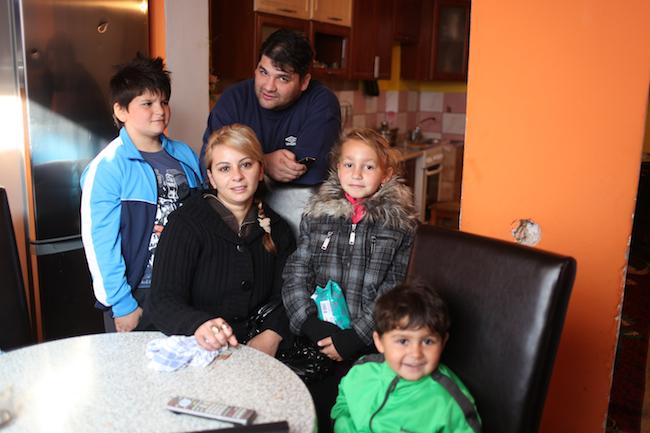 Sława i Jano Krysne z trójką dzieci
